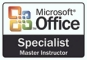 Microsoft Office Trainer Specialist Master Instructor